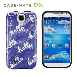 Case-Mate Elizabeth Lambs Hello Case For Samsung Galaxy S4