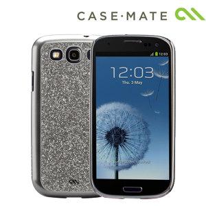 Case-Mate Glam Case for Samsung Galaxy S3 Mini - Silver