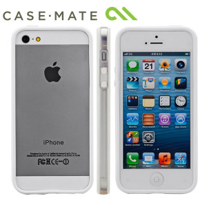 Case-Mate Hula Bumper for iPhone 5S/5 - White