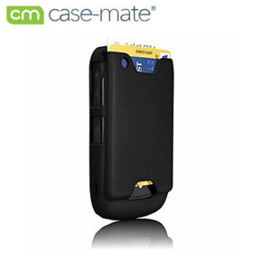 Case-Mate ID Case For BlackBerry 8520 Curve - Black Rubber