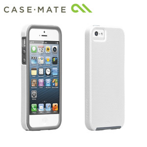 Case-mate Tough Case for Apple iPhone 5/5S - White