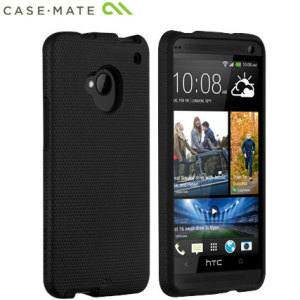 Case-Mate Tough Case for HTC One M7 - Black