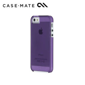 Case-Mate Tough Naked Case for iPhone 5S / 5 - Violet/White