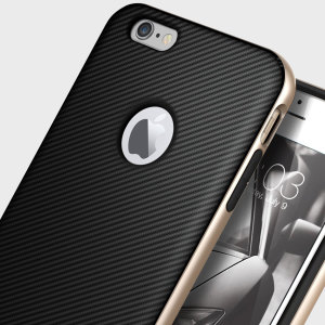 Caseology Bumper Frame iPhone 6S / 6 Case - Carbon Fibre Black