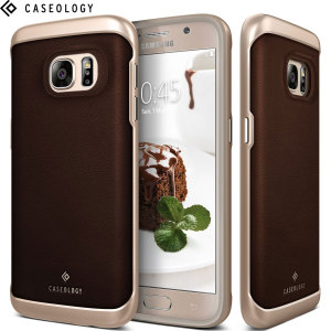 Caseology Galaxy S7 Envoy Series - Leather Brown