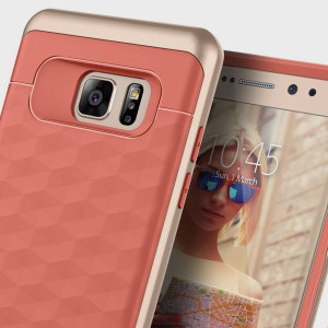 Caseology Parallax Series Samsung Galaxy Note 7 Case - Coral Pink