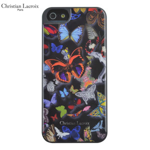 Christian Lacroix Butterfly iPhone 6S / 6 Designer Case - Black