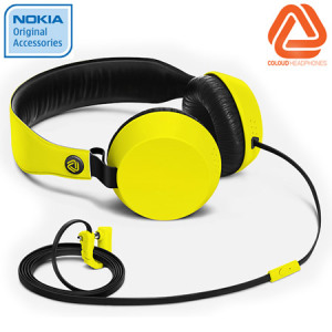 Coloud Boom Headphones - WH-530 - Yellow