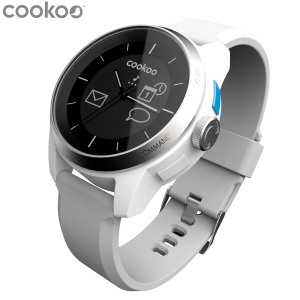 COOKOO Smartphone Analog Watch - White