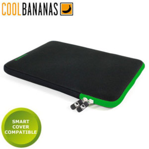 Cool Bananas ShockProof Pouch for iPad 4 / 3 / 2 - Green Apple