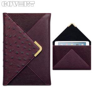 Covert Suki iPad Mini 3 / 2 / 1 Leather Style Purse Case - Maroon