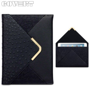 Covert Suki Leather Style Purse iPad Mini 3 / 2 / 1 Case - Black