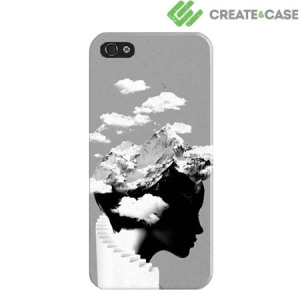 Create and Case Hardcase for iPhone 5S / 5 - It's a Cloudy Day