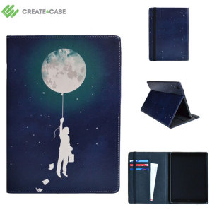 Create and Case iPad Air 2 Leather-Style Case - Burn The Midnight Oil