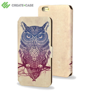 Create and Case iPhone 5S / 5 Flip Case - Warrior Owl