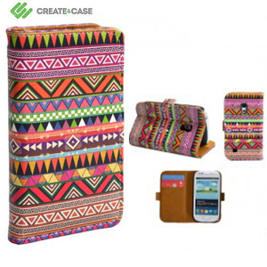 Create And Case Samsung Galaxy S4 Mini Leather Book Case - Overdose