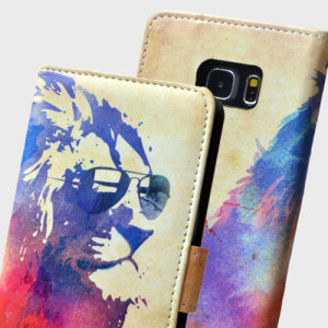 Create and Case Samsung Galaxy S7 Edge Wallet Case - Sunny Leo