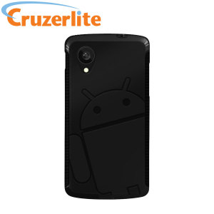 Cruzerlite Androidified A2 TPU Case for Google Nexus 5 - Black