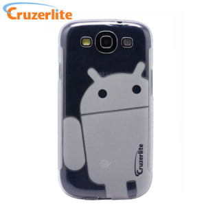 Cruzerlite Androidified TPU Case for Samsung Galaxy S3 - Clear