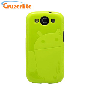 Cruzerlite Androidified TPU Case for Samsung Galaxy S3 - Green