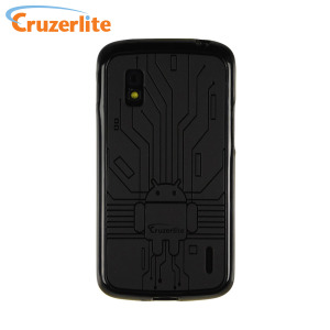 Cruzerlite Bugdroid Circuit Case for Google Nexus 4 - Black
