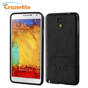 Cruzerlite Bugdroid Circuit Case for Samsung Galaxy Note 3 - Black