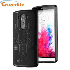 Cruzerlite Bugdroid Circuit LG G3 Case - Black