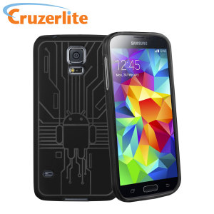 Cruzerlite Bugdroid Circuit Samsung Galaxy S5 Case - Black