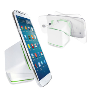 CUBE Universal Car and Desk Smartphone Holder - White