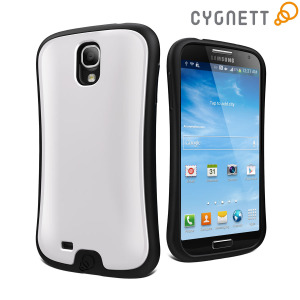 Cygnett FitGrip Case for Samsung Galaxy S4 - Black/White