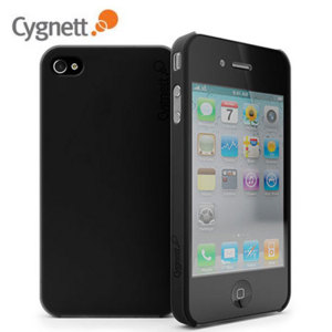 Cygnett Frost Matte slim Case - Black - iPhone 4