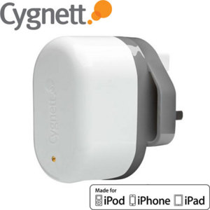 Cygnett GroovePower+ Dual USB Charger with Apple Cable