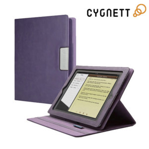 Cygnett Lavish Folio Case with Stand for iPad 3 - Purple
