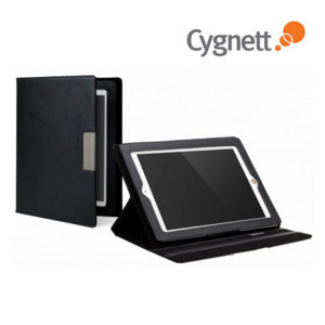 Cygnett Lavish Folio Case with Stand for  iPad 4 / 3 / 2 - Black