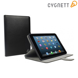 Cygnett Lavish Folio Case with Stand for iPad Mini 2/iPad Mini - Black