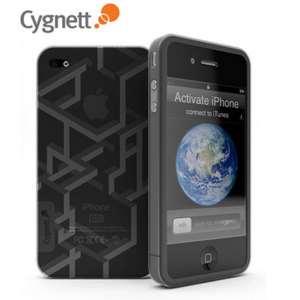 Cygnett Prism Lines Case - Grey - iPhone 4
