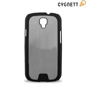 Cygnett Urban Shield For Samsung Galaxy S4 - Silver Aluminium