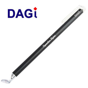 DAGi Smartphone Slim Line Capacitive Stylus - Black
