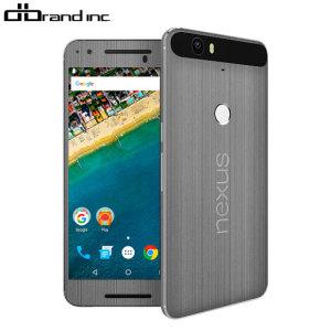dbrand Nexus 6P Titanium Skin - Siver