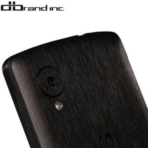 dbrand Textured Back Cover Skin for Google Nexus 5 - Black Titanium