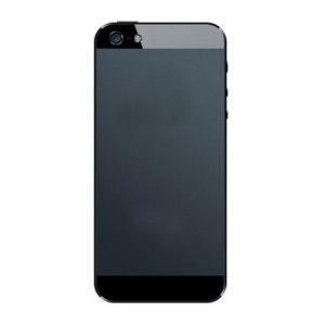 Debrand Conversion Skin for iPhone 5S / 5 - Black