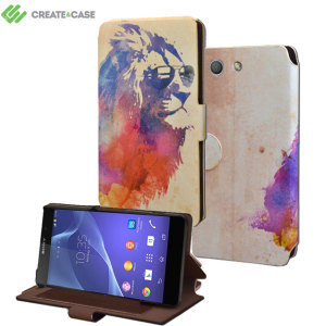 Create and Case Sony Xperia Z3 Compact Book Case - Sunny Leo