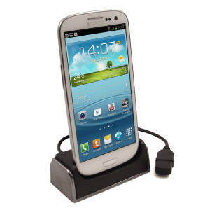 Desk Dock for Samsung Galaxy S4 / S3