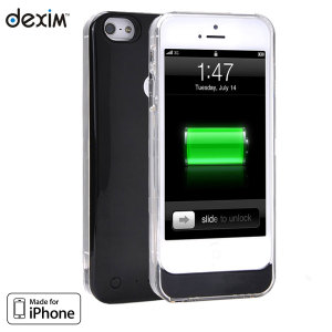 Dexim XPowerSkin for iPhone 5S / 5 - Black