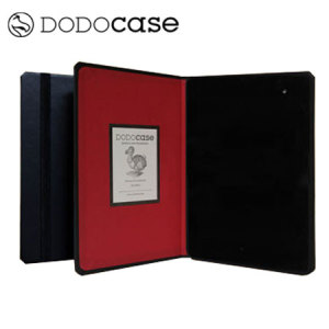 DODOcase HARDcover Case for Google Nexus 7 2013 - Black / Red
