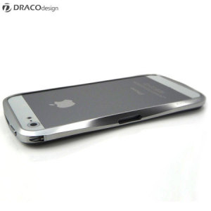 Draco Design Aluminium Bumper for the iPhone 5S / 5 - Astro Silver