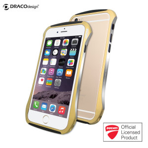Draco Ducati 6 iPhone 6 Aluminium Bumper - Champagne Gold