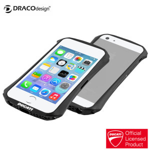 Draco Ducati Ventare A Aluminium Bumper for iPhone 5S / 5 - Graphite
