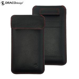 Draco Leather Sleeve iPhone 6S / 6 Case - Black