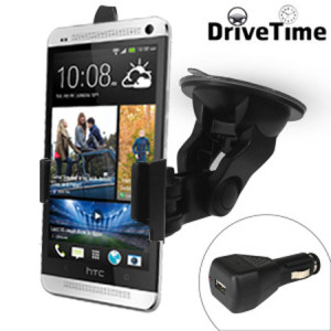 DriveTime HTC One M7 Adjustable Car Kit